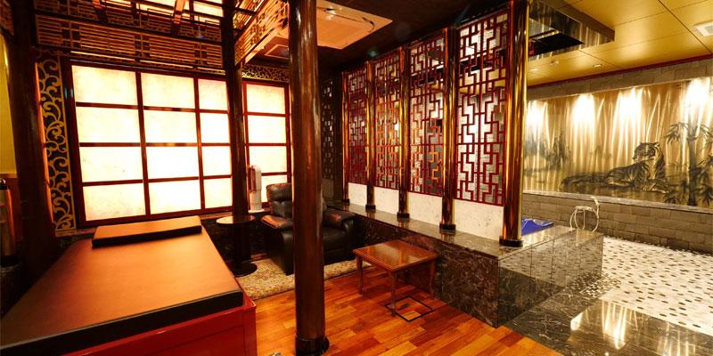 千葉最高級ソープランド 李白 千葉でいちばん高級なソープは個室も豪華。